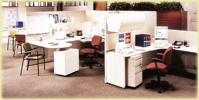 Unique Modular Office Furniture designs.